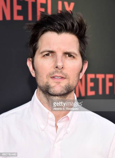"Actor/moderator Adam Scott attends Netflix's ""Master Of None"" For Your Consideration Event at the Saban Media Center on June 5, 2017 in North..."