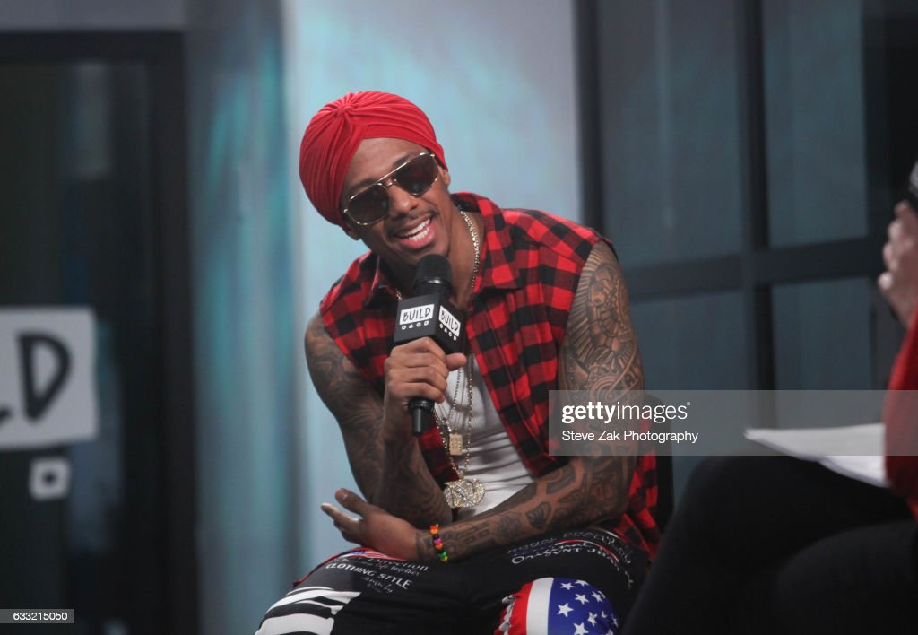 "Build Series Presents Nick Cannon Discussing His Latest Projects Including His New Single ""Hold On"" : Photo d'actualité"