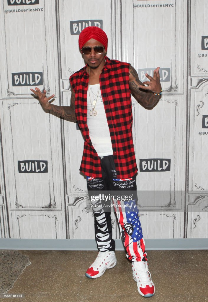 Actor/Muscian Nick Cannon attends Build Series to discuss latest projects and his new single 'Hold On'at Build Studio on January 31, 2017 in New York City.