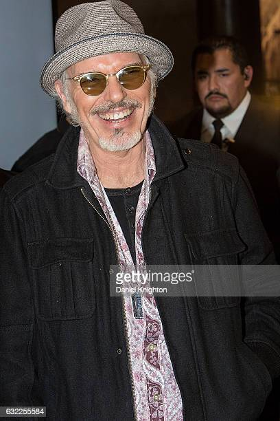 Actor/musician Billy Bob Thornton attends a signing with his band The Boxmasters during The 2017 NAMM Show on January 20, 2017 in Anaheim, California.