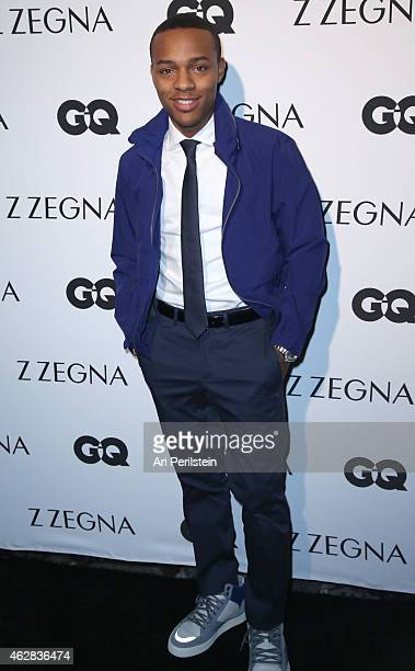 Actor/Musician Bow Wow arrives at Z Zegna GQ Celebrate The New Z Zegna Collection Hosted By Nick Jonas at Philymack Studios on February 5 2015 in...