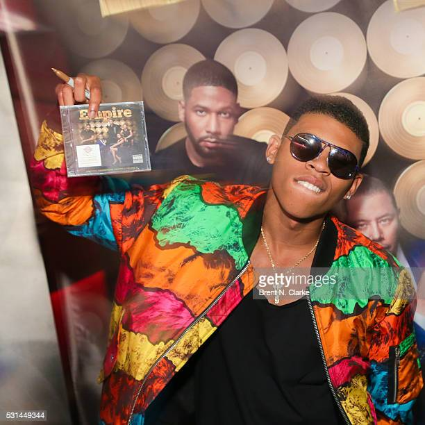 Actor/musician Bryshere Y Gray attends the Empire CD signing at Planet Hollywood Times Square on May 14 2016 in New York City