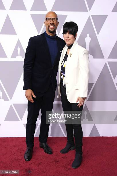 Actor/musician Common and songwriter Diane Warren attend the 90th Annual Academy Awards Nominee Luncheon at The Beverly Hilton Hotel on February 5...