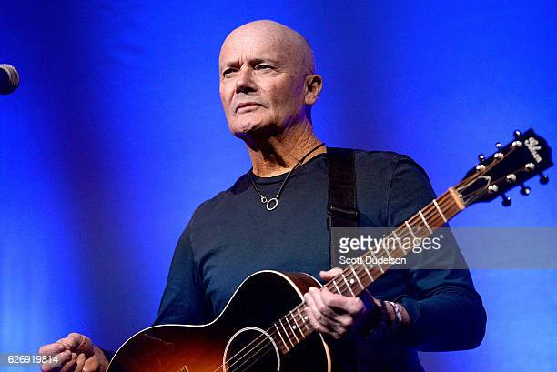 Actor/musician Creed Bratton performs onstage during his benefit concert for Lide Haiti at the Regent Theater DTLA on November 30, 2016 in Los...