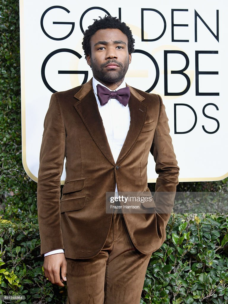 Actor/Musician Donald Glover attends the 74th Annual Golden Globe Awards at The Beverly Hilton Hotel on January 8, 2017 in Beverly Hills, California.