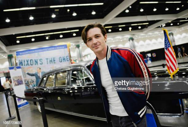 Actor/musician Drake Bell attends Politicon 2018 at Los Angeles Convention Center on October 21 2018 in Los Angeles California