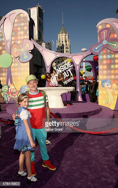 Actor/musician Flea and daughter attend the Los Angeles Premiere and Party for Disney•Pixar's INSIDE OUT at El Capitan Theatre on June 8 2015 in...