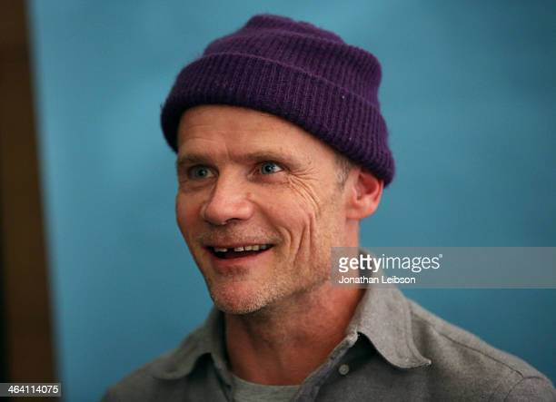 Actor/musician Flea attends The Variety Studio Sundance Edition Presented By Dawn Levy on January 20 2014 in Park City Utah