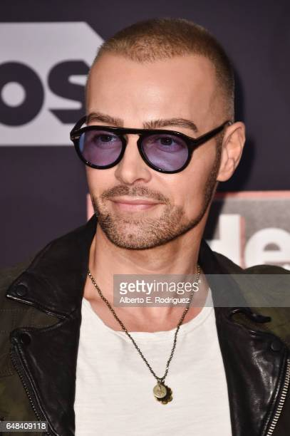 Actormusician Joey Lawrence of The Lawrence Brothers attends the 2017 iHeartRadio Music Awards which broadcast live on Turner's TBS TNT and truTV at...