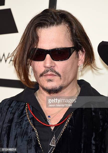 Actormusician Johnny Depp attends The 58th GRAMMY Awards at Staples Center on February 15 2016 in Los Angeles California