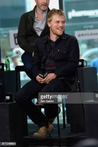 Actor/musician Johnny Flynn attends the Build Series to discuss the new TV series 'Genius' at Build Studio on April 21 2017 in New York City