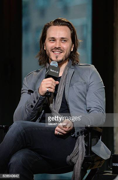 Actor/musician Jonathan Jackson discusses his role on ABC's Nashville and his upcoming EP with his band Enation at AOL Build at AOL Studios In New...