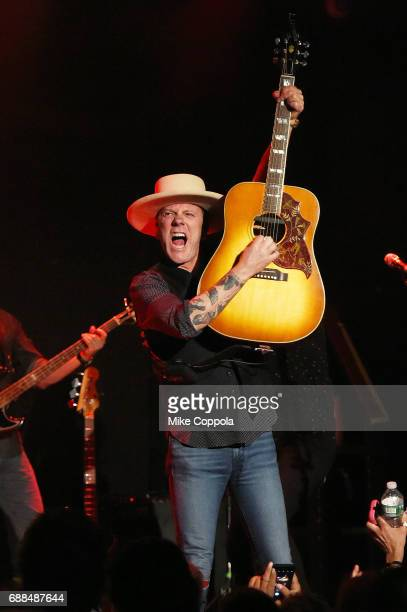 Actor/musician Kiefer Sutherland performs on his Not Enough Whiskey Tour at Bowery Ballroom on May 25 2017 in New York City