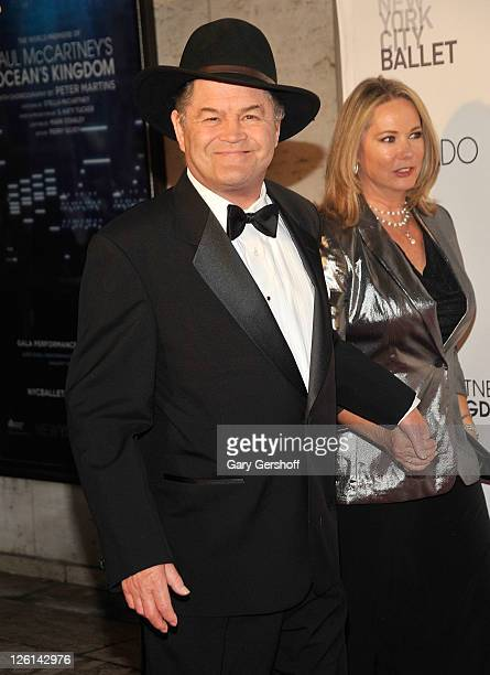 Actor/musician Micky Dolenz and Donna Quinter attend the 2011 New York City Ballet Fall Gala at the David Koch Theatre at Lincoln Center on September...