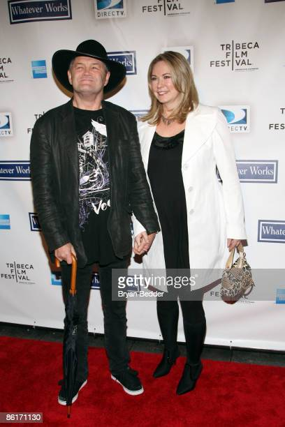 Actor/musician Micky Dolenz and wife Donna Quinter attend the premiere of Whatever Works during the 2009 Tribeca Film Festival at Ziegfeld on April...