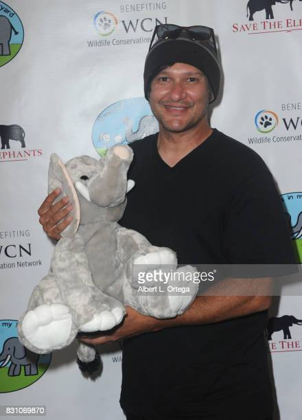 Actor/musician Neil D'Monte attends the Celebration for World Elephant Day Hosted By Elephants In My Backyard held at Trunk Club on August 12 2017 in...