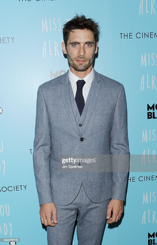 Actor/musician Tyson Ritter attends Montblanc & The Cinema Society host a screening of Roadside Attractions & Lionsgate's New York premiere of 'Miss You Already' at Museum of Modern Art on October 25, 2015 in New York City.