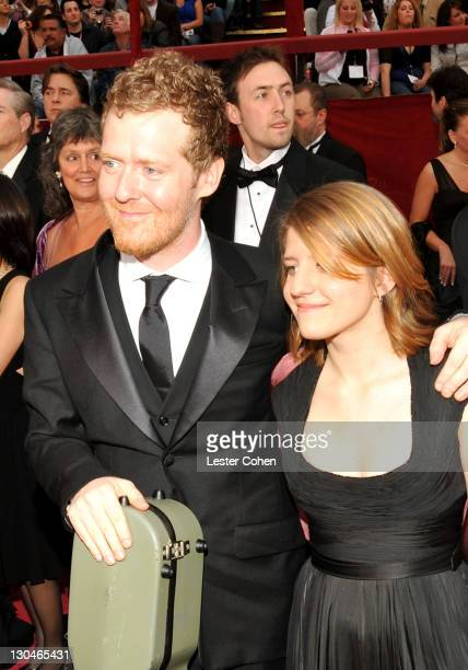 Actormusicians Glen Hansard and Marketa Irglova attend the 80th Annual Academy Awards at the Kodak Theatre on February 24 2008 in Los Angeles...