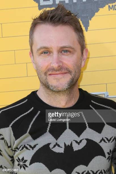 Actor/personality Chris Hardwick attends the Premiere of Warner Bros Pictures' The LEGO Batman Movie at the Regency Village Theatre on February 4...