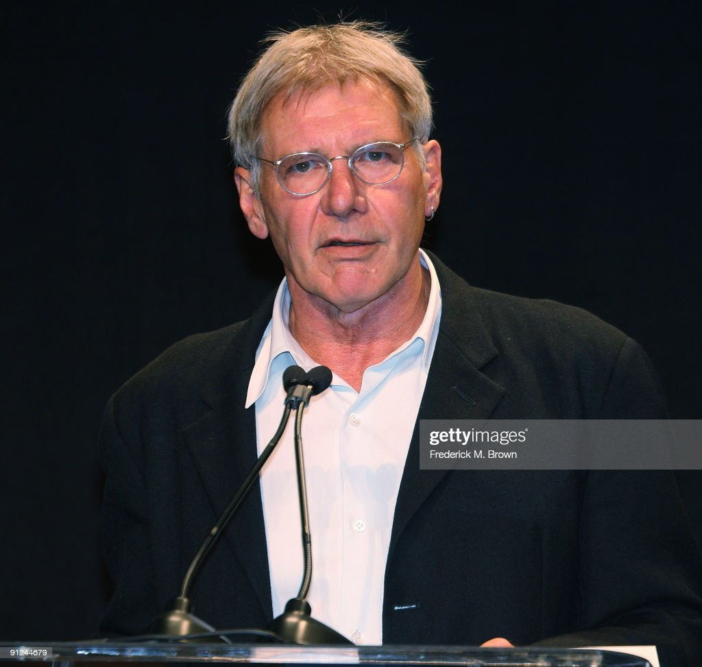Actor Pilot Harrison Ford Attends The Eaa Young Eagles Program Press News Photo Getty Images