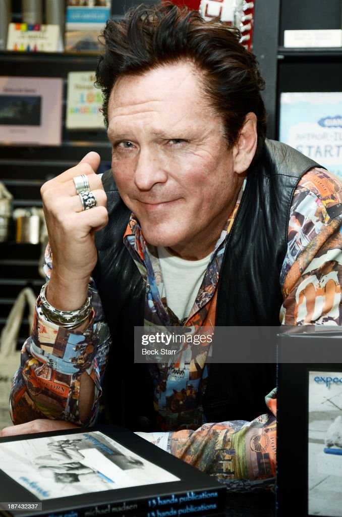 "Michael Madsen Book Signing For ""Expecting Rain"""