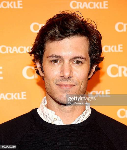 Actor/producer Adam Brody attends the Crackle's 2016 Upfront Presentation at New York City Center on April 20 2016 in New York City