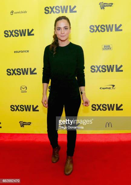 Actor/Producer Alice Braga attends 'A Conversation with Wagner Moura and Alice Brag' during 2017 SXSW Conference and Festivals at Austin Convention...