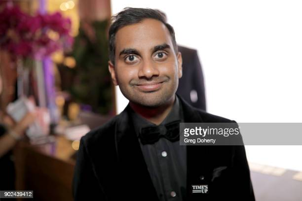 Actor/producer Aziz Ansari attends the Official Viewing and After Party of The Golden Globe Awards bosted by The Hollywood Foreign Press Association...