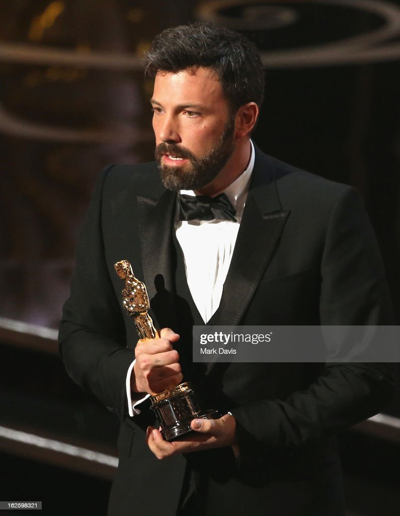 Actor/Producer Ben Affleck onstage during the Oscars held at the Dolby Theatre on February 24, 2013 in Hollywood, California.