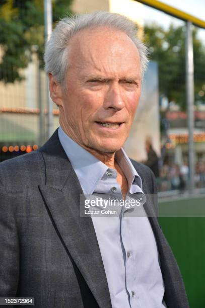 """Actor/Producer Clint Eastwood arrives at the """"Trouble With The Curve"""" Premiere at Mann's Village Theatre on September 19, 2012 in Westwood,..."""