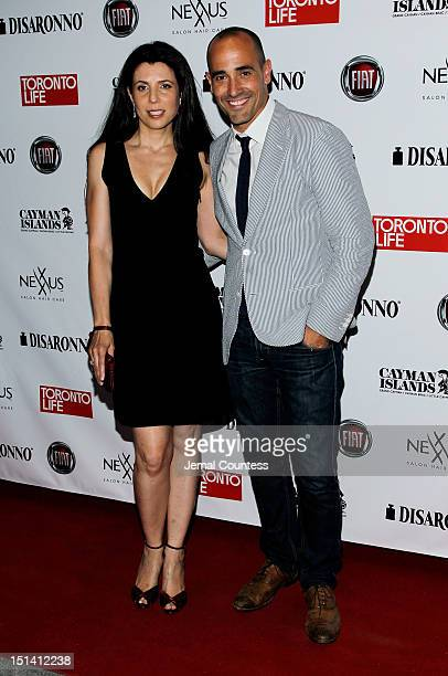 Actor/producer David Rocco and Nina Rocco attend Rising Stars 2012 Toronto Life Most Stylish during the 2012 Toronto International Film Festival on...
