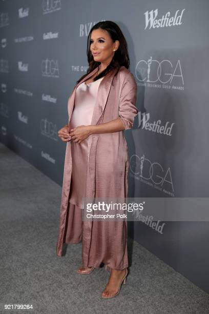 Actorproducer Eva Longoria attends the Costume Designers Guild Awards at The Beverly Hilton Hotel on February 20 2018 in Beverly Hills California