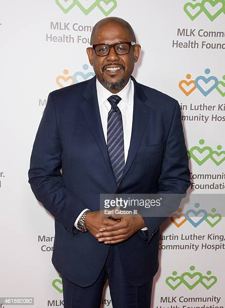Actor/Producer Forest Whitaker attends the 2015 Martin Luther King Jr 'Celebrating The Dream' Luncheon at Dorothy Chandler Pavilion on January 15...