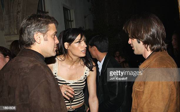 Actor/Producer George Clooney actress Famke Janssen and actor Olivier Martinez at Killer Films Cinetic Media Section Eight and John Wells...
