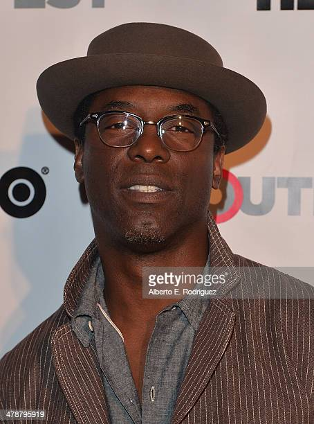 """Actor/producer Isaiah Washington arrives to the Outfest Fusion LGBT People of Color Film Fetival Opening Night Screening of """"Blackbird"""" at the..."""