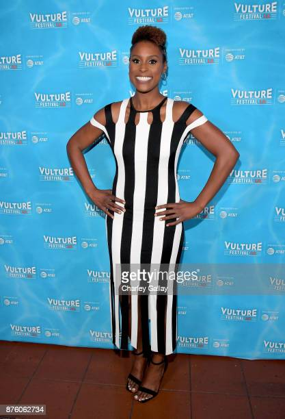 Actor/producer Issa Rae attends the 'Wine Down with Issa Rae' event during Vulture Festival LA Presented by ATT at Hollywood Roosevelt Hotel on...