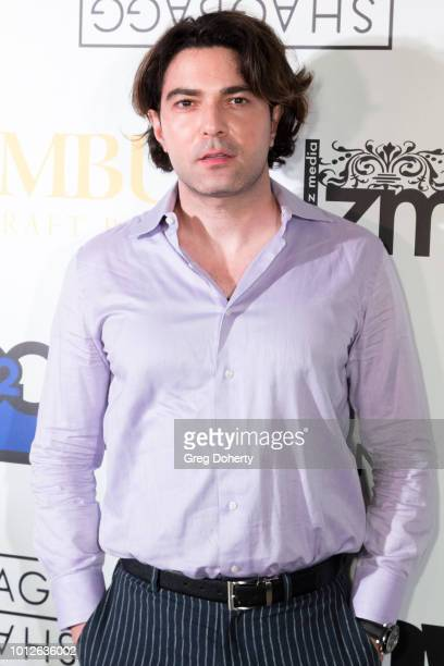 Actor/Producer James Jurdi attends George Jung's Birthday Celebration And Screening Of Blow at TCL Chinese 6 Theatres on August 6 2018 in Hollywood...
