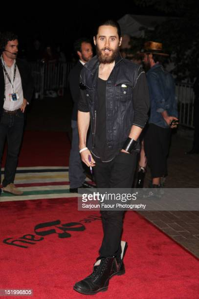 Actor/producer Jared Leto attends the Artifact premiere during the 2012 Toronto International Film Festival at Ryerson Theatre on September 14 2012...