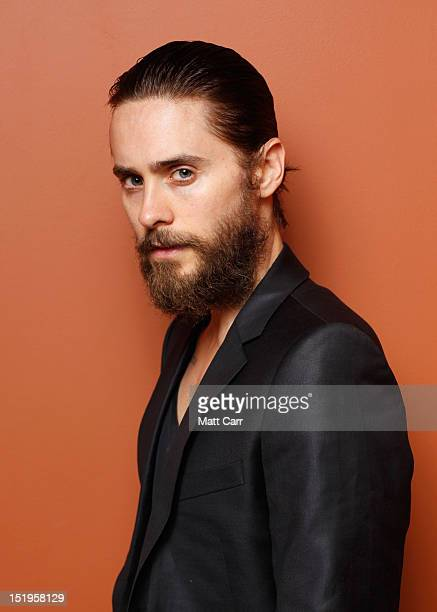 """Actor/producer Jared Leto of """"Artifact"""" poses at the Guess Portrait Studio during 2012 Toronto International Film Festival on September 13, 2012 in..."""