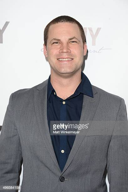Actor/producer Jared Safier arrives at the screening of LANY Entertainment's The Bay at DOMA on November 30 2015 in Beverly Hills California