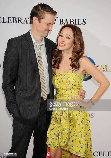 Actor/producer Jesse Warren and actress Autumn Reeser arrive at the March Of Dimes' 6th Annual Celebration Of Babies Luncheon at Beverly Hills Hotel...