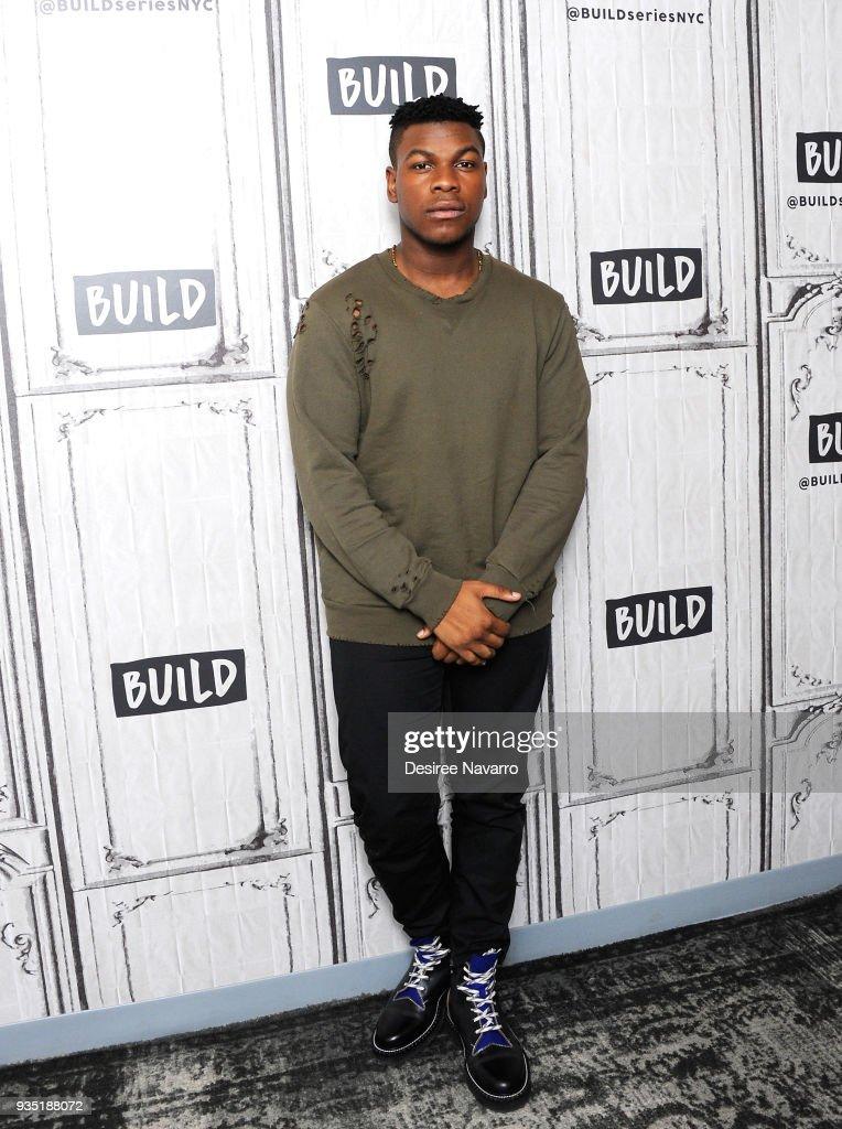 Celebrities Visit Build - March 20, 2018 : ニュース写真