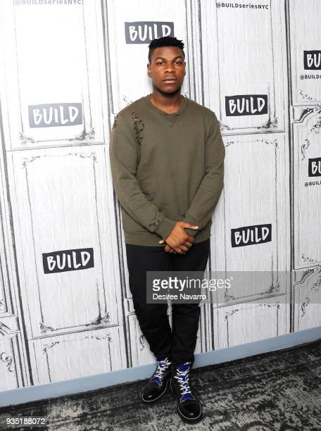 Actor/producer John Boyega visits Build Series to discuss the film 'Pacific Rim Uprising' at Build Studio on March 20 2018 in New York City