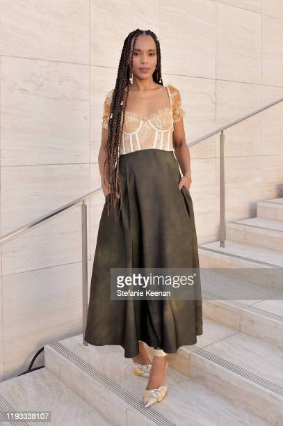 Actor-producer Kerry Washington attends The Hollywood Reporter's Power 100 Women in Entertainment at Milk Studios on December 11, 2019 in Hollywood,...