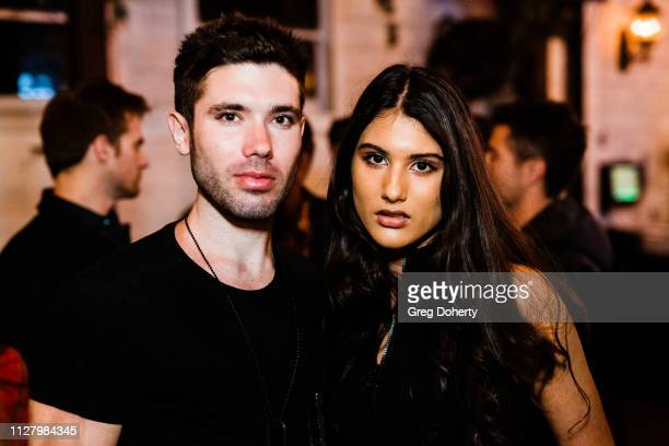 Actor/Producer Kristos Andrews and Singer / Actress Jennalyn Ponraj attend the 8th Annual LANY Mixer at Pearl's on February 26 2019 in West Hollywood...