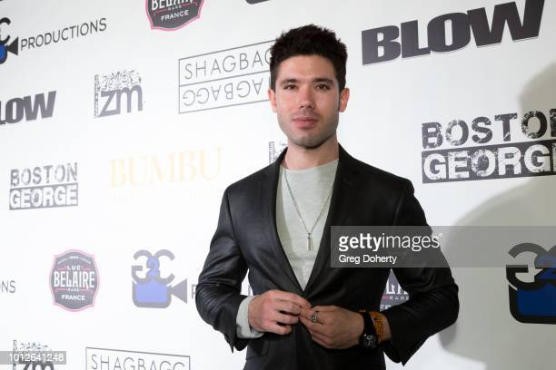 Actor/Producer Kristos Andrews attends George Jung's Birthday Celebration And Screening Of Blow at TCL Chinese 6 Theatres on August 6 2018 in...