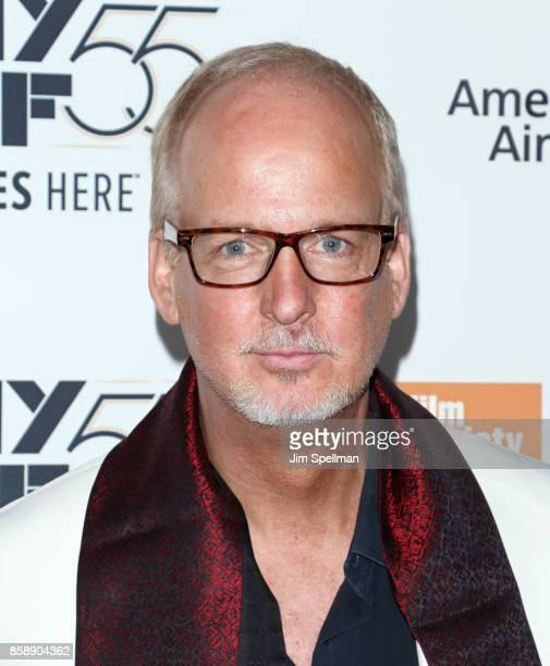 Actor/producer Larry Cech attends the 55th New York Film Festival 'Wonderstruck' premiere at Alice Tully Hall on October 7 2017 in New York City