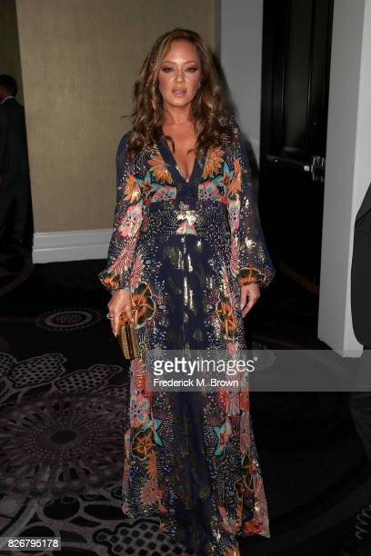 Actor/producer Leah Remini at the 33rd Annual Television Critics Association Awards during the 2017 Summer TCA Tour at The Beverly Hilton Hotel on...