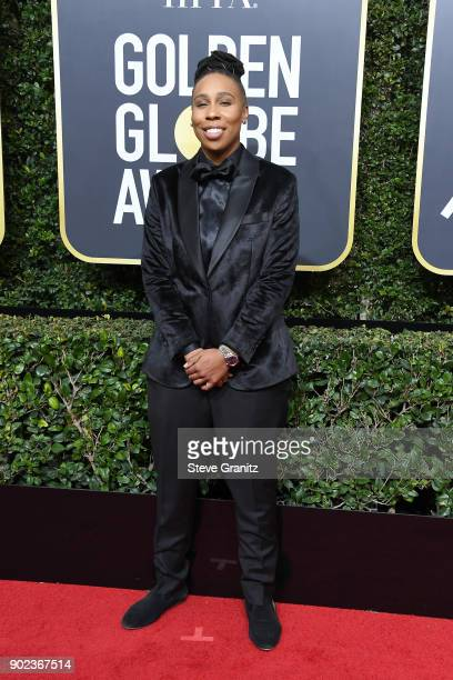Actor/producer Lena Waithe attends The 75th Annual Golden Globe Awards at The Beverly Hilton Hotel on January 7 2018 in Beverly Hills California