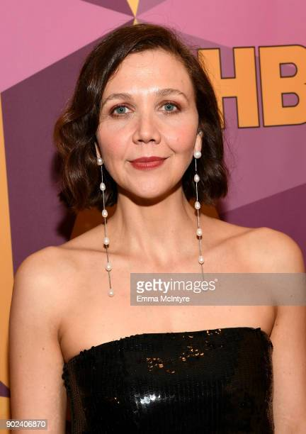Actor/Producer Maggie Gyllenhaal attends HBO's Official Golden Globe Awards After Party at Circa 55 Restaurant on January 7 2018 in Los Angeles...